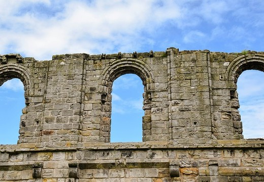 Bow Window Old St Andrews Scotland Wall Cathedral